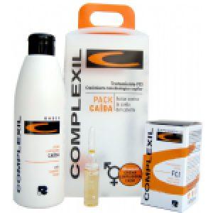 Complexil Pack Caída FCI Crema Limpiadora + ampollas FCI x 9