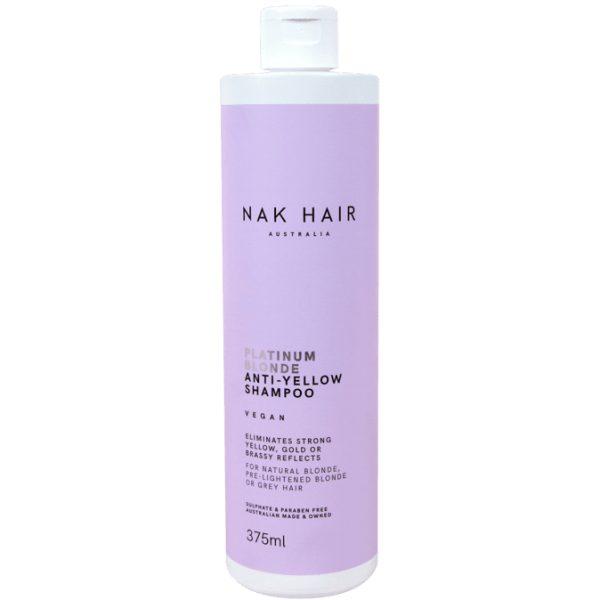 NAK HAIR BLONDE SHAMPOO 375 ML