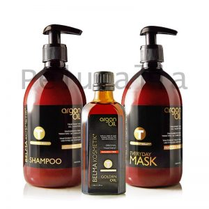 PACK ARGAN OIL BELMA KOSMETIK 500 ML + ARGAN OIL 100 ML